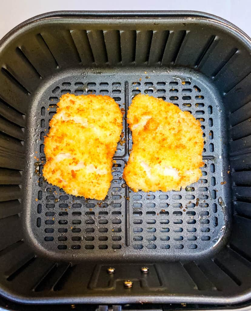 fish fillets in air fryer