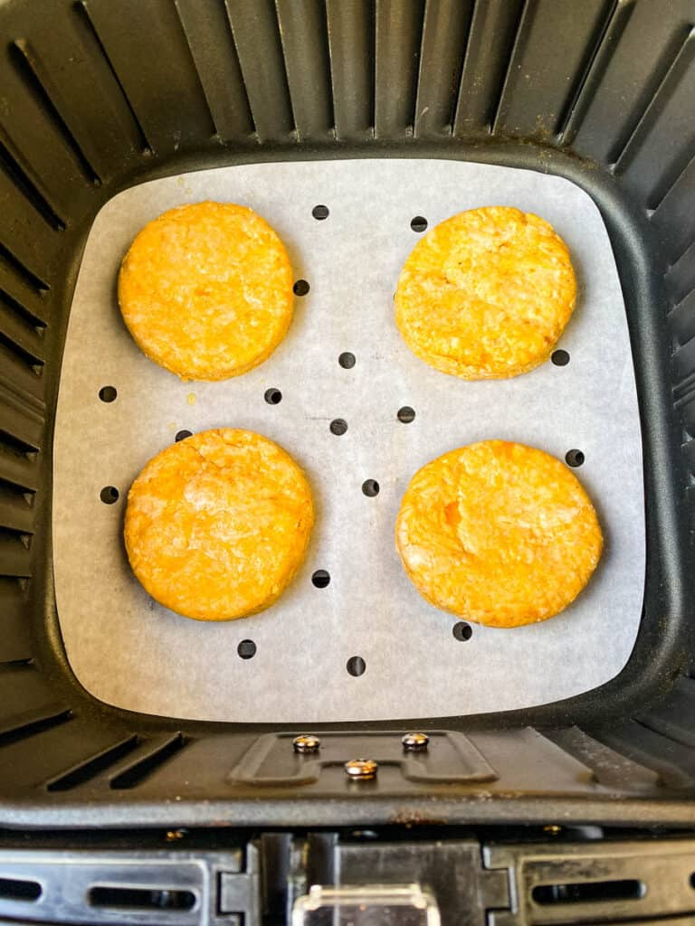 sweet potato biscuits in air fryer