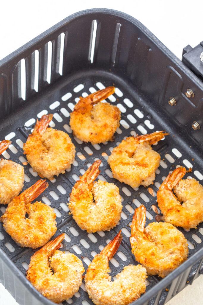 fried shrimp in air fryer