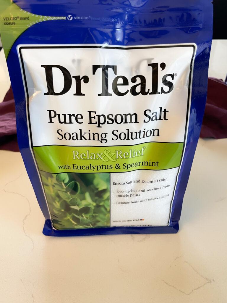 epsom salt in a package