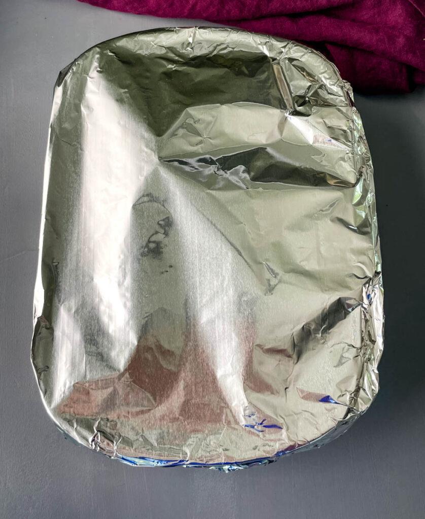 baked turkey wings in foil
