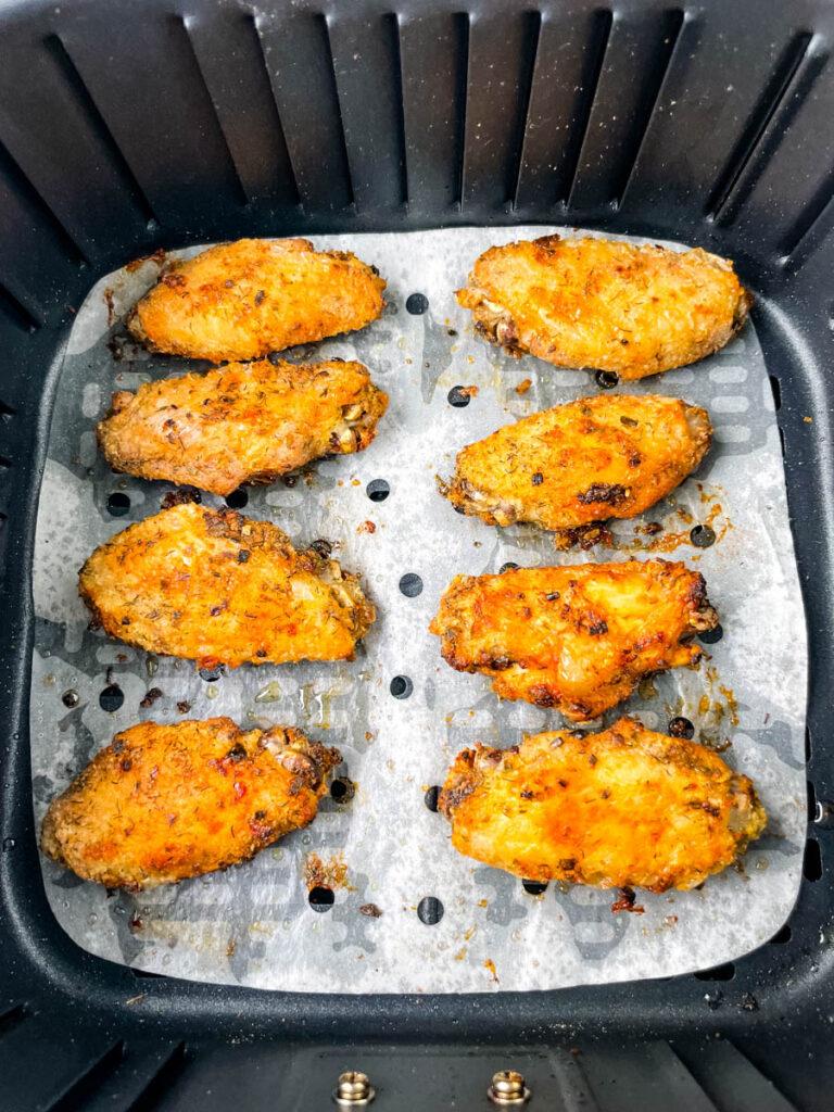 ranch chicken wings in air fryer
