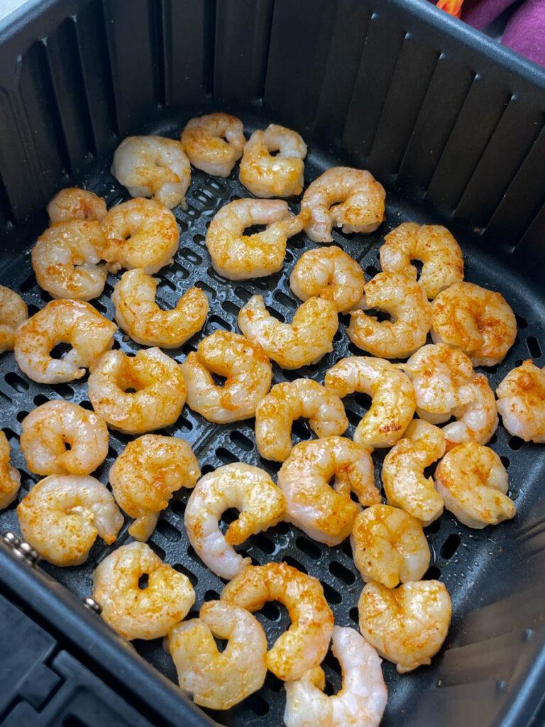 frozen shrimp in air fryer
