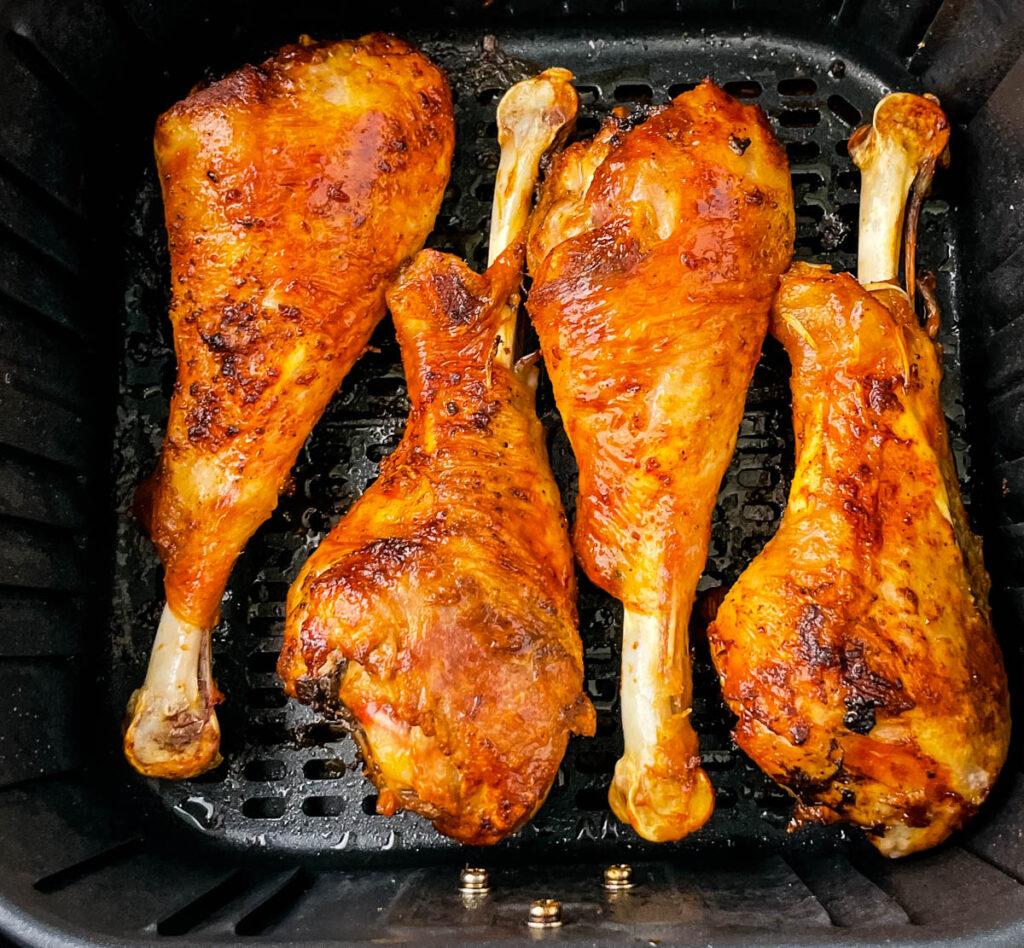 turkey legs in an air fryer